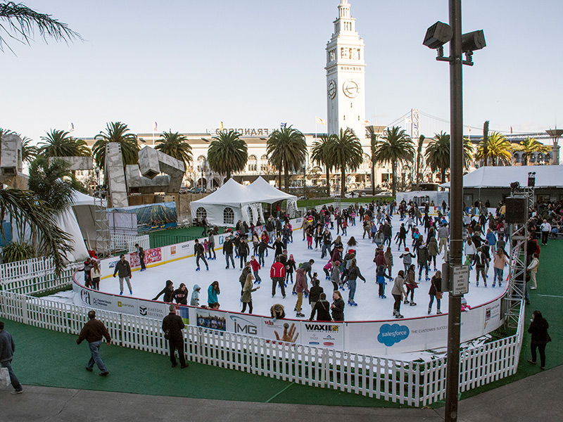 Grab Your Skates! Holiday Ice Rinks Around The Bay