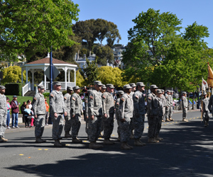 Veterans Get A Welcome Home Parade