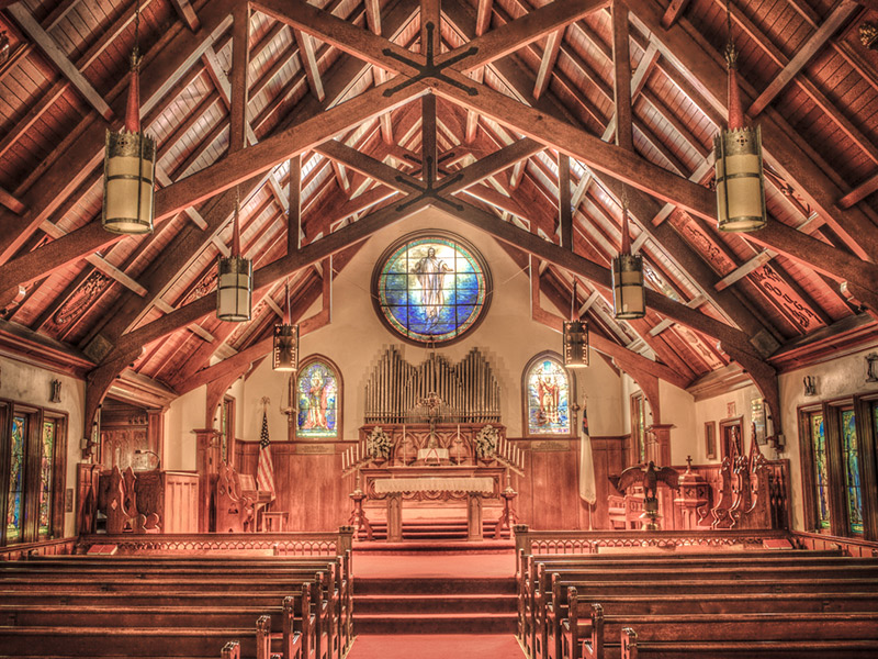 Tony Baldwin, Professional Organist, To Play At Historic St. Peter's Chapel