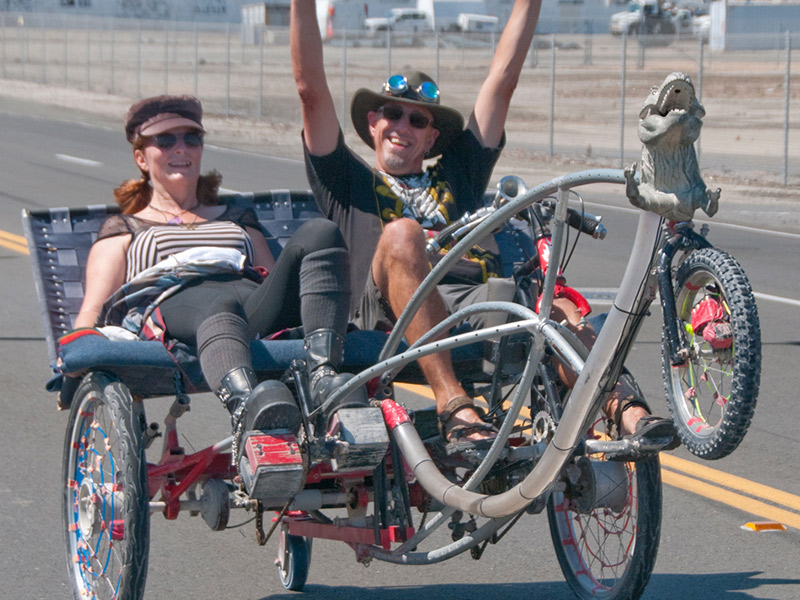 Wacky Good Fun & Quirky Vehicles At Mare Island's Annual Obtainium Cup