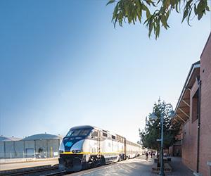Riding High On The Capitol Corridor Train