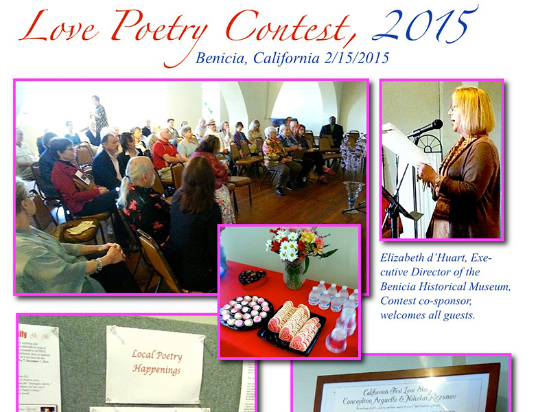 Love blooms In Benicia With Annual Poetry Contest