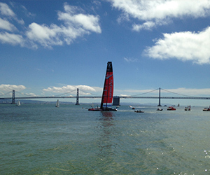 Fashionista: Viewing America's Cup Racing From A Fashionably Appointed Yacht