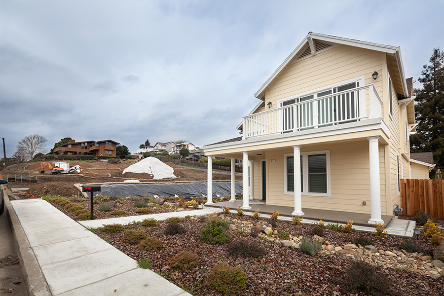 A flurry of new construction and major remodels in downtown Benicia's west side