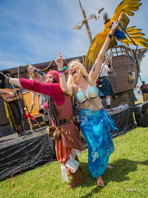 Northern California Pirate Festival Invades Vallejo's Waterfront