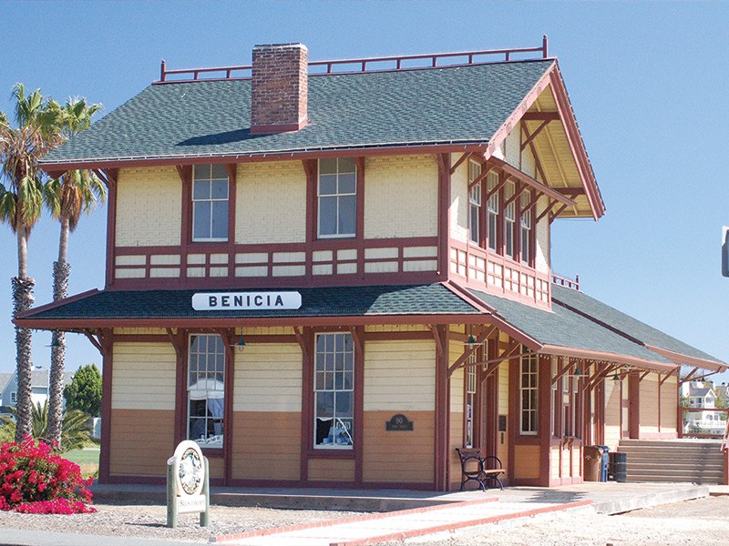 Benicia Train Depot On Track For Historic Registration