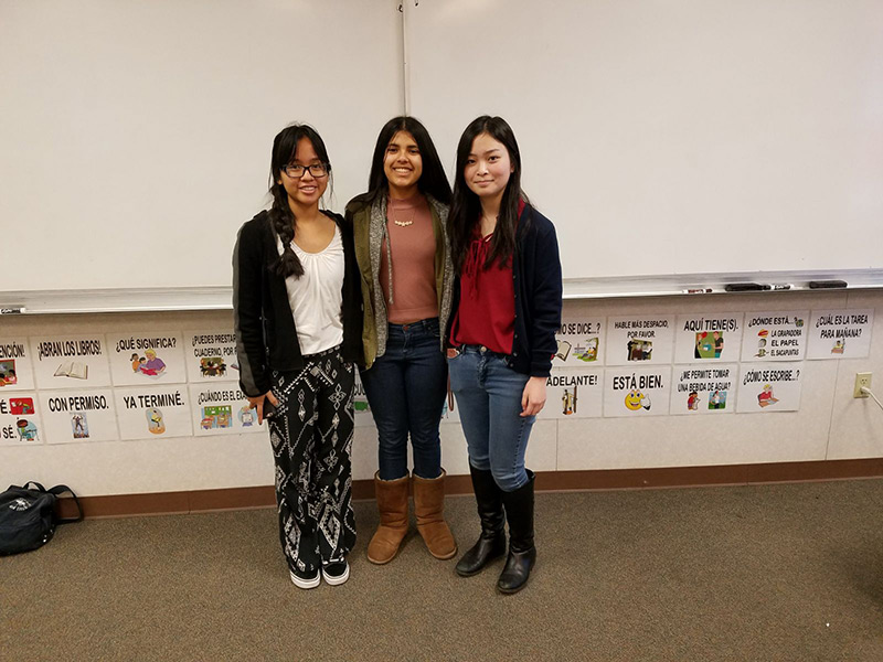 Young Women Make Community Service A Priority At Benicia High