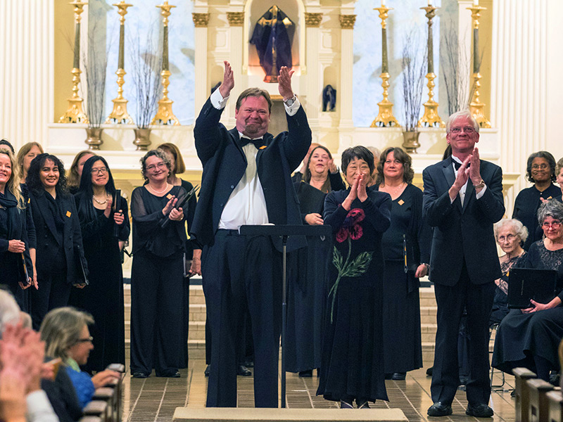 Vallejo Choral Society Presents The Messiah, & A New Conductor For 2019