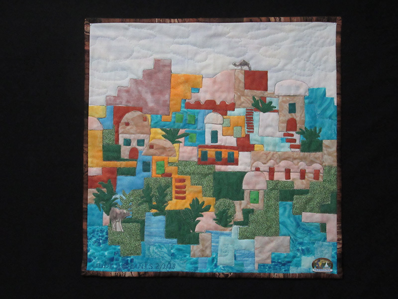 Biennial Clock Tower Show Combines Fabric Art With Community Outreach