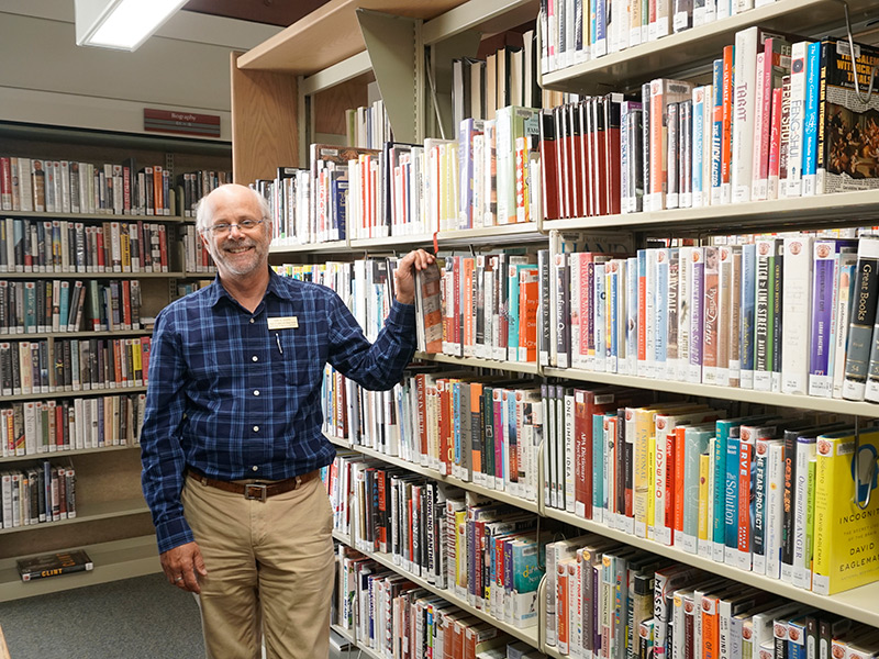 Interview: David Dodd Takes The Helm At Benicia Public Library