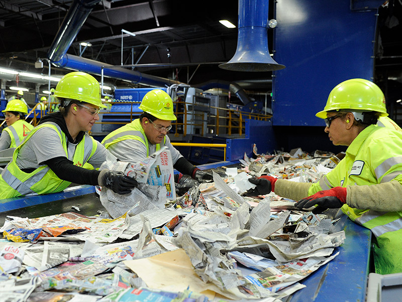 Working With Schools, Republic Services Teaches Kids How To Properly Recycle