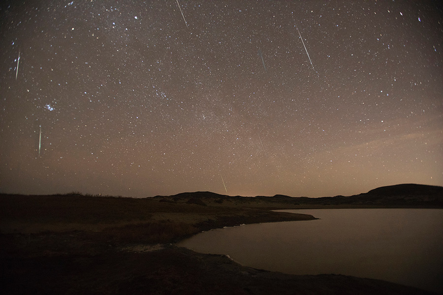 December's Annual Meteor Show