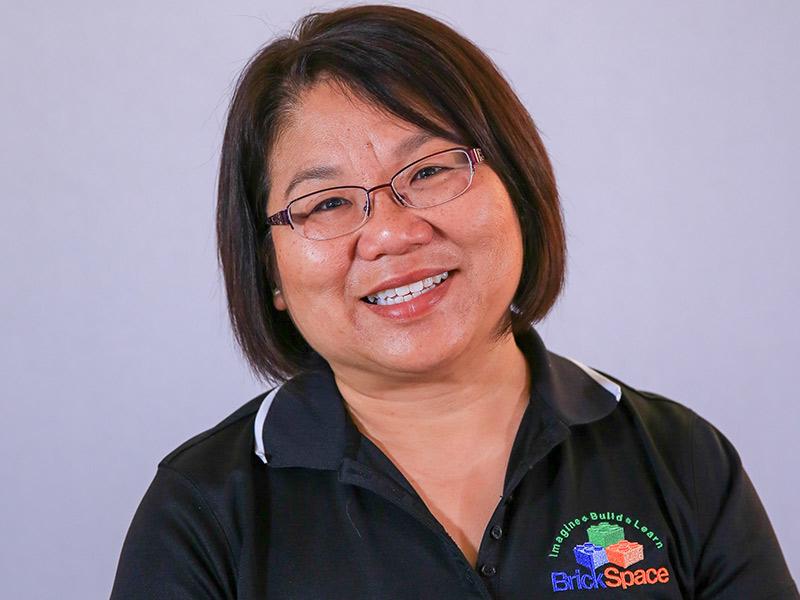 Bio: Fary Koh, BrickSpace Owner, Loves Working With Kids