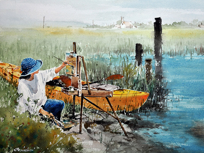 Rolando S. Barrero Is Featured This Month At Benicia Plein Air Gallery