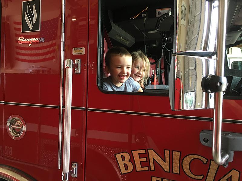 An Abundance Of Family-fun Activities At Fire Dept. Open House