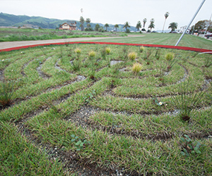 Art And Sustainability Meet In Waterfront Labyrinth Sculpture