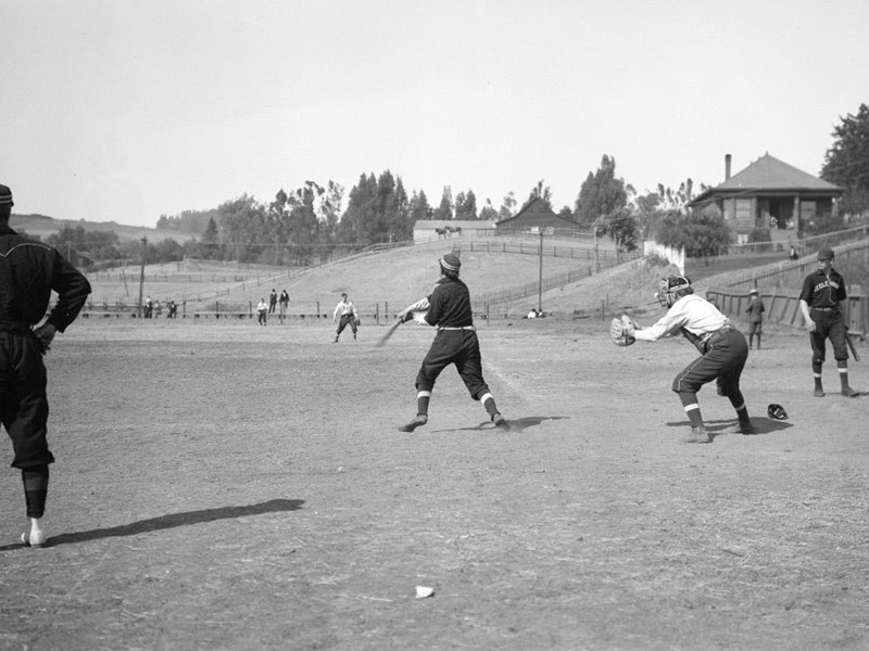 Backwards Glance Historic Photo Shows Benicia Baseball Alive And Well In 1906