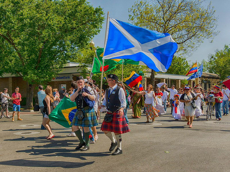 The Caber Toss, Stone Put & More Celebrated At Highland Festivals