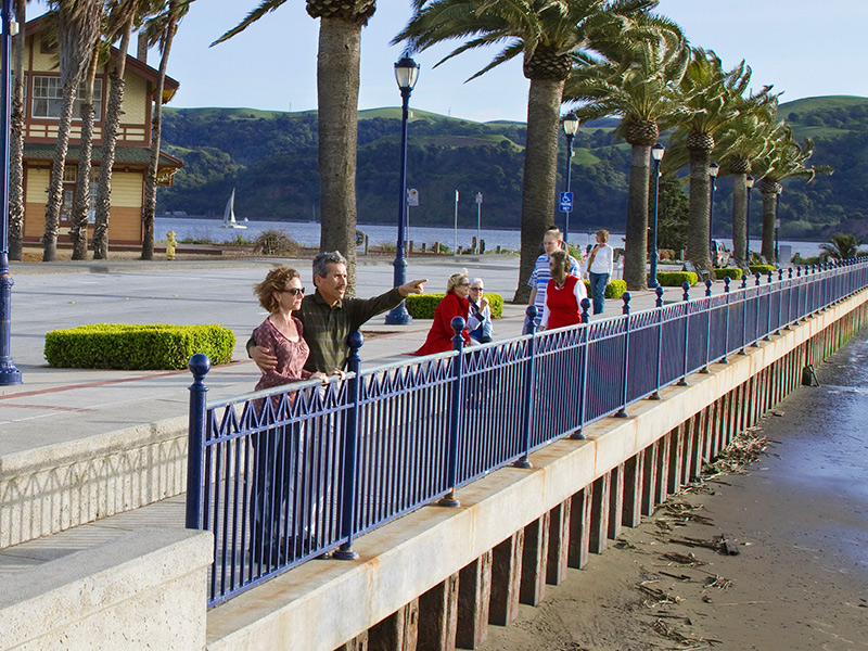 Measure C Funds Put To Use To Replace Waterfront Railing