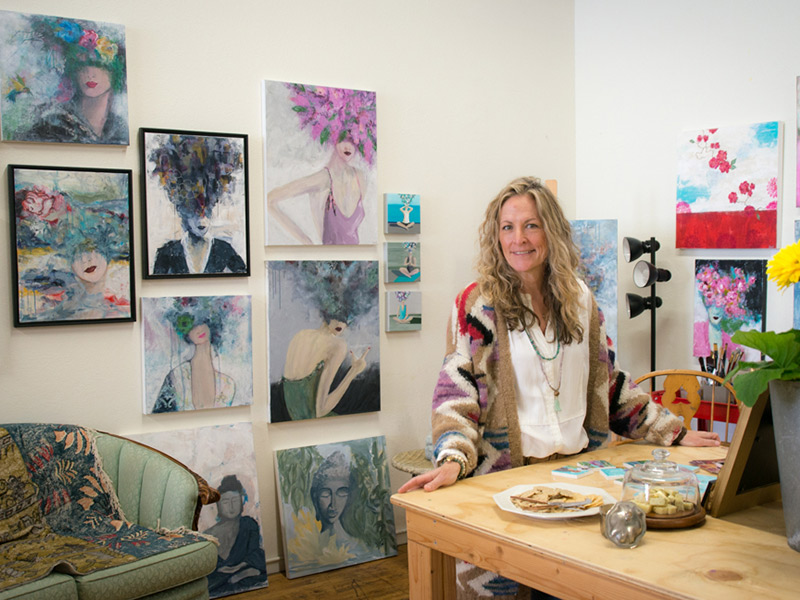 Visit Artist Live-work Spaces At Annual Artist Open Studios May 4 & 5