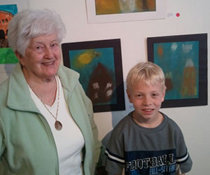 Local School Kids Become Artists In The Next Generation Exhibit
