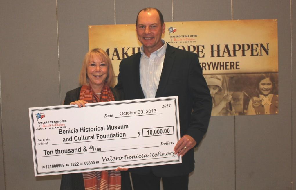 Valero Benicia Refinery Awards Grants to Local Children's Charities