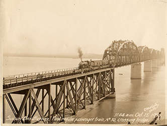 Backwards Glance: Historic Train Bridge Turns 85
