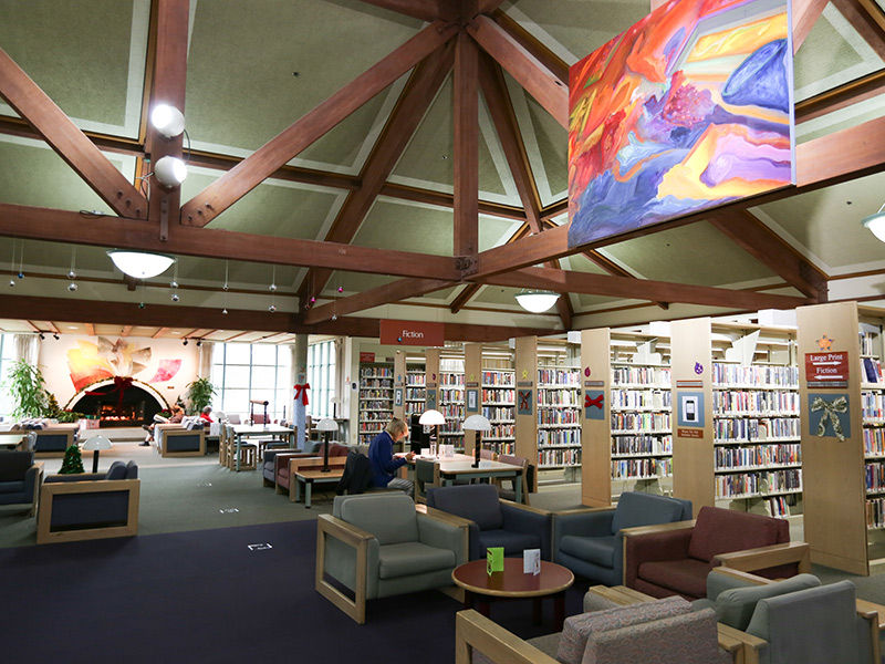 A Commitment To Public Art At Benicia Library