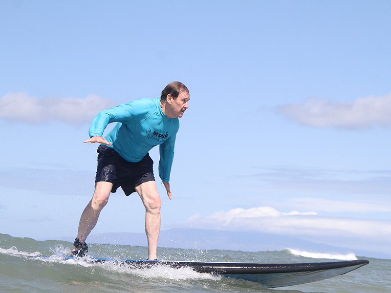 Interview: Roger Lipman Celebrates Remission From Leukemia By Going Surfing