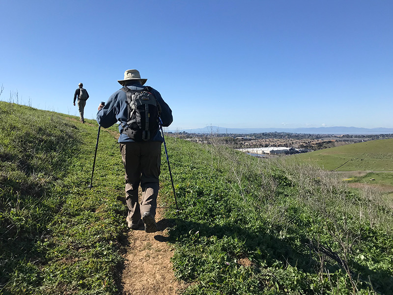 Major Bay Trail Systems Transverse Benicia