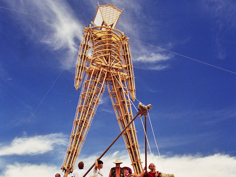 Exuberance & Humanity Help Define The Burning Man Experience