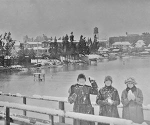 Backwards Glance: Snow … In Benicia?