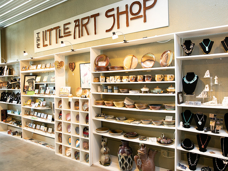 The Little Art Shop Gift Store & Gallery Features Handcrafted Goods By Area Artists