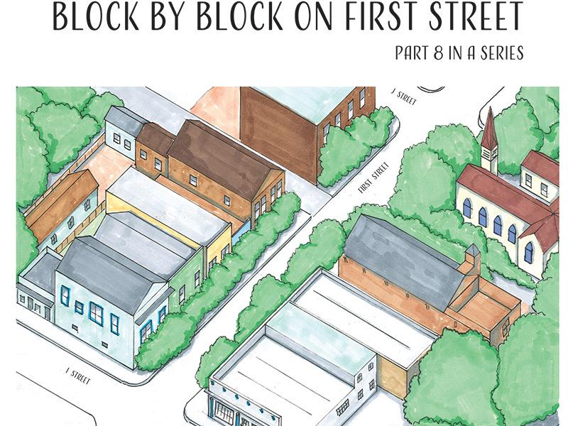 Block By Block On First Street, I Street To J Street