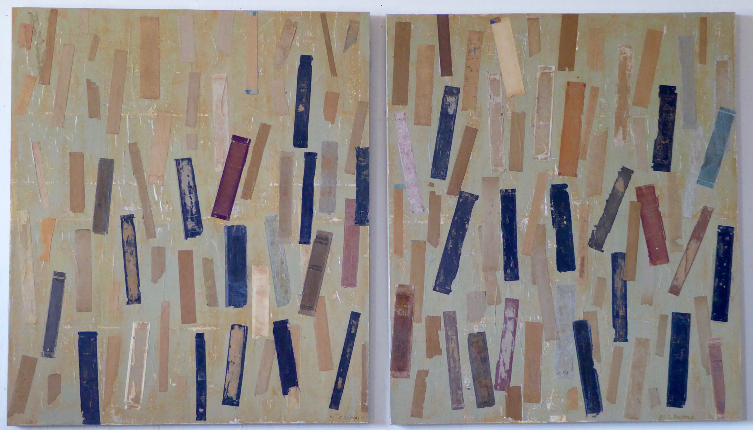 The Physicality Of Books, By Carol Dalton, At Library Art Gallery