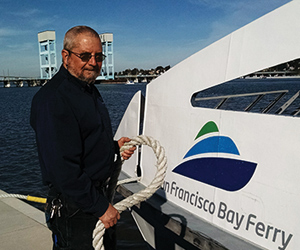 Bio: George Shelhorn, Baylink Ferry Deck Hand