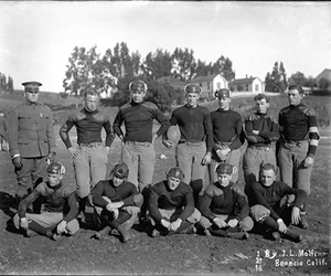 Backwards Glance: Football Season In Benicia Circa 1918