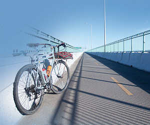Bridge To Bridge Cycling Connects Two Counties